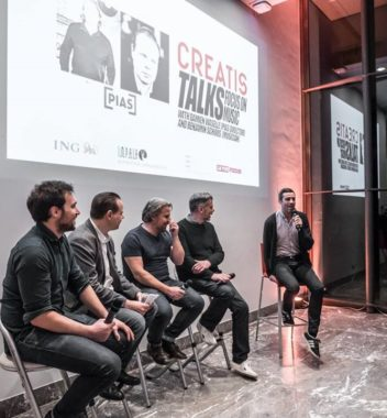 KEA reports on the Creatis Talk with PIAS Belgium Director Damien Wasselle and Benjamin Schoos