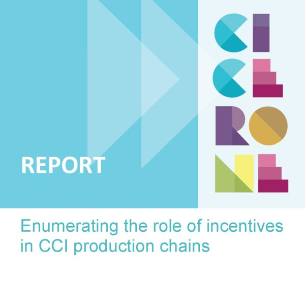 Enumerating the role of incentives in CCI production chains