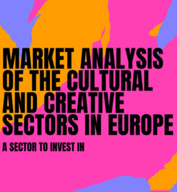 "New ""Market Analysis of the Cultural and Creative Sectors in Europe"""